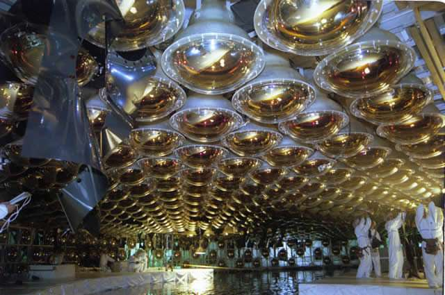 Super-Kamiokande detectors in Japan. Image via the experiments official website